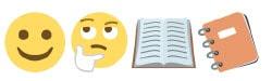 Emoji One Trajon Opentype SVG Font Example