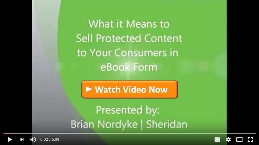 Protecting Your eBooks Video
