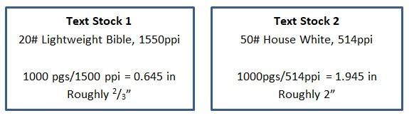 Text stock comparison